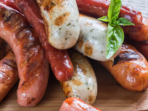 sausages, hotdogs and more at our Ashburn, VA butcher shop