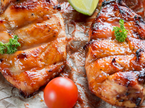 tender marinated chicken breasts in our Pembroke, NH butcher shop